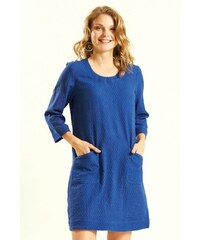 9f0191b65495 Nomads GLADE dámské letní mini šaty   tunika ze tkané bavlny - modrá marine