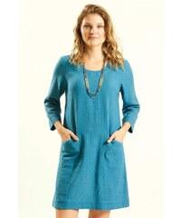 1d9f4a68df2d Nomads GLADE dámské letní mini šaty   tunika ze tkané bavlny - modrá lagoon