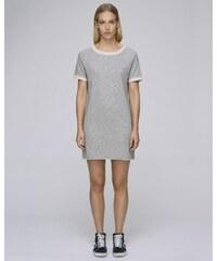 427ae80c9803 Stanley   Stella Stella TENDERS dámské šaty z biobavlny - šedá heather grey