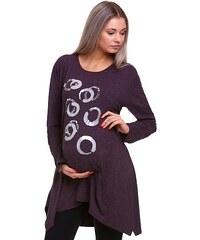 Těhotné.cz těhotenská tunika hřejivá 1A0639 1A0639 4725802b1a