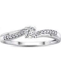 e5448a4b8 Silvego Zlatý zásnubný prsteň CASABLANCA s diamantmi FNJG0116