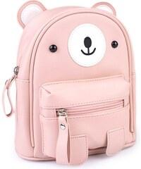 Lifestyle Dívčí menší batůžek Medvěd růžový 5bae6b7080
