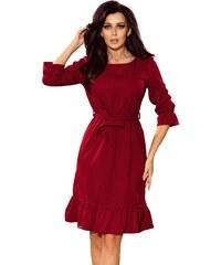 Numoco dámské šaty L vínová 452ca2f98e