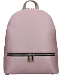 96889b6361e Dámský kožený batoh Facebag Paloma - růžová