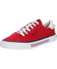 TOM TAILOR Tenisky červená   bílá 62460faf6a8