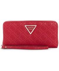 GUESS peňaženka Kamryn Quattro G Zip-Around Wallet červená 61d8454680a