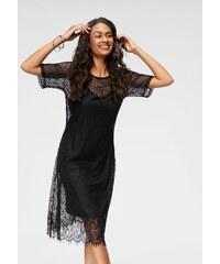 Object Šaty na párty čierna 9a63907f432
