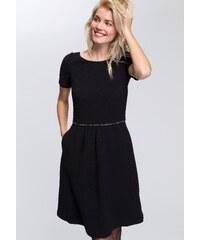 Čierne plisované šaty s čipkou VILA Vivida - Glami.sk c618493daae