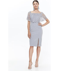 fda78561522a Top Secret LADY S DRESS Light Grey