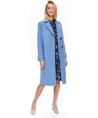 Modré Dámske bundy a kabáty  4a0512a267e
