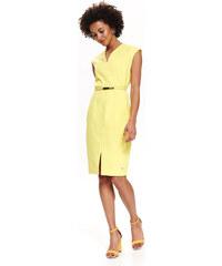 f0263df357c9 MODOVO Elegantné dámske šaty 8513 žlté. Veľkosť len Univerzálna. Detail  produktu. Top Secret LADY S DRESS Yellow