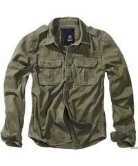 adbf0a7beb86 Brandit Vintage pánska košeľa