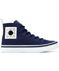 Kenzo  Square logo  K-Street sneakers - Blue c9c901fd11
