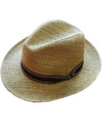 0793c505042 Slaměný klobouk béžový Assante 80006