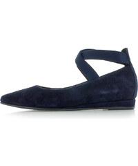 Tamaris Sötétkék bőr balerina cipő 1-24209 45a455deb7