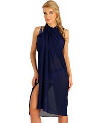 de93ead6ef97 LITEX Plážový šátek velký. 57521514 tmavě modrá UNI