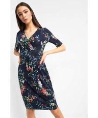ORSAY Zavinovací květované šaty 6f174ba1b96
