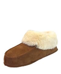 fce5478faadc Domáca kožená obuv Maximex hnedá