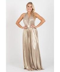 City Goddess Šaty Gold Rain z kolekcie Stephanie Pratt 1d309a5000d