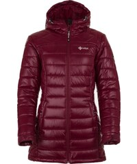 Dámsky zimný prešívaný kabát Kilpi SYDNEY-W červená (kolekcia 2018) 34 8f74d5098ab