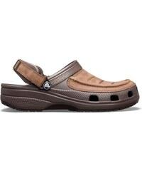 2c07b2a640e Pánské boty Crocs Yukon Vista Clog hnědá