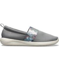 24a1199f79e2 Dámske topánky Crocs LiteRide GRAPHIC SlipOn šedá 41-42