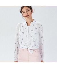 59e988c24b29 Sinsay - Vzorovaná košeľa - Purpurová