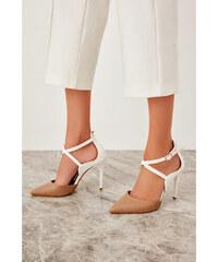 b5a74ed28201 Trendyol Mink Women High Heels Mink