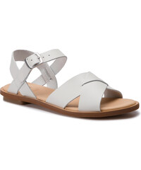 Szandál CLARKS - Willow Gild 261419174 White Leather a28e2536a9