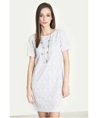 Pletené šaty s motivem krajky Greenpoint SUK393A18PRT41 3f2554b169d