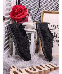 d8a365ab18f6 MODANOEMI Női fekete sportcipő BO-2C