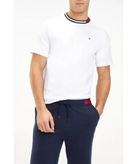 Tommy Hilfiger bílé pánské tričko CN SS Tee Logo - M 933bacd1198