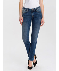 43cf0fdee931 Cross Jeans dámské džíny Rose N487-056 vysoký sed modré