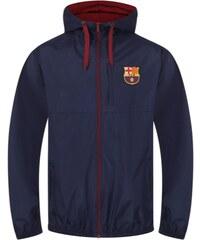 FC Barcelona pánska bunda s kapucňou navy SLab shower 54ec31157ae