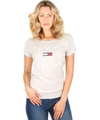 Tommy Hilfiger dámské šedé tričko City 29691fd71dd