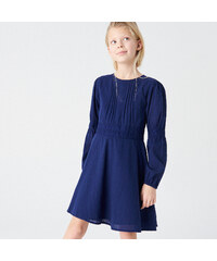 Reserved - Šaty z organickej bavlny - Tmavomodrá 2d4d647c420