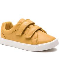 Sportcipő CLARKS - City OasisLo T 261405036 Yellow 0a55dde053