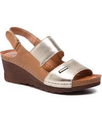 Sandále POLLONUS - 5-1083-002 Rudy Złoto 9bc872e6651
