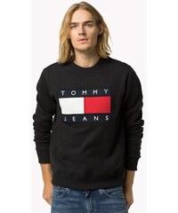 Tommy Hilfiger Pánská mikina TOMMY JEANS - černá 28ad495a2ea