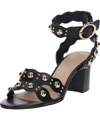 6654aab7ee GUESS Remienkové sandále  Nikey  čierna