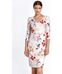 Colett Smetanové vzorované šaty CS28 435ba74fe1b