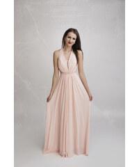 c9d97534ea37 EVA   LOLA Společenské Šaty ELORA růžové
