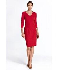 6f3cd1dc40 Puzdrové šaty Colett cs23 - červené