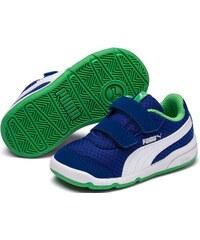 6ebfc4e878d8 Puma Chlapčenské tenisky Stepfleex 2 Mesh V PS - modro-zelené