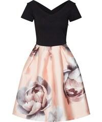 61cb3ace5609 Anna Field Koktejlové šaty růžová   černá