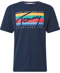 f419b32313ec Tommy Jeans Tričko tmavě modrá   mix barev