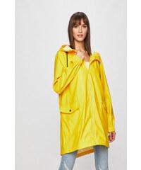 RAINS Žltý vodeodolný kabát Long Jacket S M - Glami.sk 059c6015976