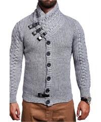 e878c8f4ac92 Pánský pletený svetr Behype E-9025