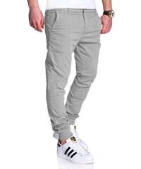 a26b8ee925ae MyTrends Pánské kalhoty Chino-Joggers RJ-3011