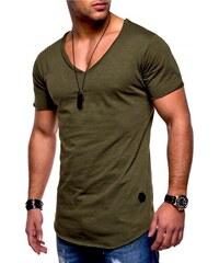 596842f29023 Pánské tričko Behype Oversize V-Neck MT-7102